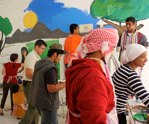 The tangible benefits of arts education in the Gulf, soft-skill development for the 21st century